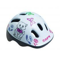 BikeFun-Ducky-Safy-cicas-feher-gyermek-kerekparos-fejvedo-XS-44-48