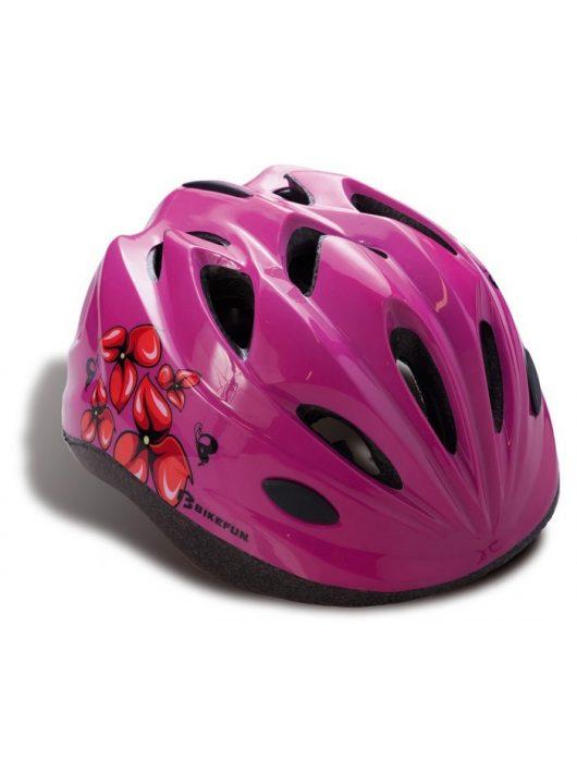 BikeFun-Moxie-gyermek-kerekparos-fejvedo-pink-M-52-56