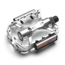 BikeFun-Uplander-alu-kerekpar-pedal-ezust