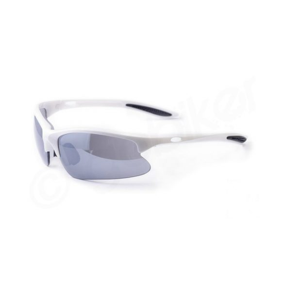 BikeFun Vector fix lencsés kerékpáros szemüveg fehér - Golyán kerékpár  szaküzlet - szerviz - webshop bfc31fce71
