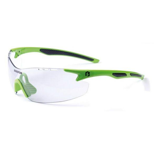 BikeFun Pole fix lencsés kerékpáros szemüveg zöld - Golyán kerékpár  szaküzlet - szerviz - webshop 189e569c6e