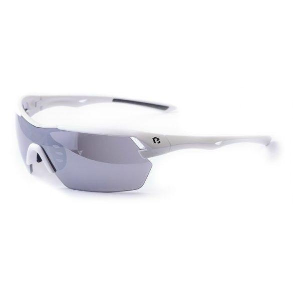 BikeFun-Target-cserelheto-lencses-kerekparos-szemuveg-feher. • Univerzális 42197cd5ad