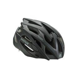 BikeFun Edge felnőtt kerékpáros fejvédő L fekete-karbon mintás