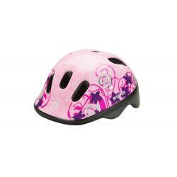 BikeFun Ducky pink gyermek kerékpáros fejvédő XS (44-48)