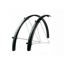 SKS Fender Set 28/37mm alu-plastic kerékpár sárvédő szett fekete
