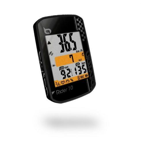 Bryton Rider 10C GPS kerékpár computer szett fekete