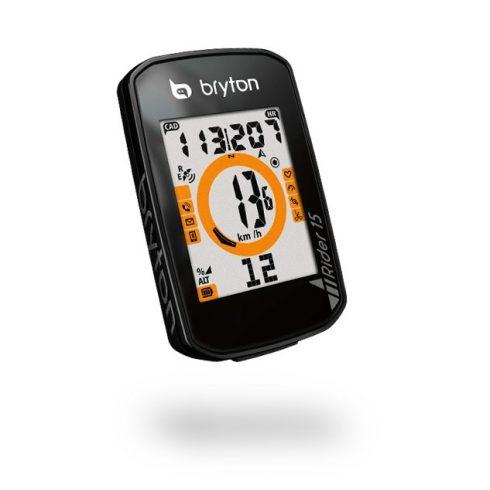 Bryton Rider 15E GPS kerékpár computer fekete