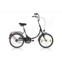 Schwinn Csepel merev vázas Camping kerékpár fekete