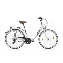 Csepel Budapest B 28/19 7sp váltós női kerékpár fehér '16