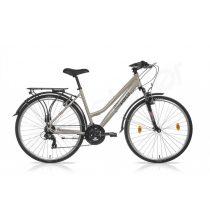 Csepel Traction 100 28/19 női trekking kerékpár krém