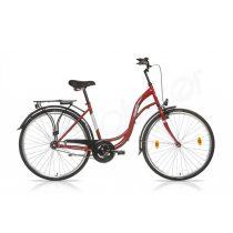 Csepel Velence 28/19 kontrás női kerékpár piros '17