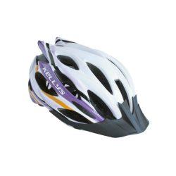 Kellys KLS Dynamic kerékpáros fejvédő white-alpina purple S/M