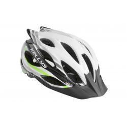 Kellys KLS Dynamic kerékpáros fejvédő white-green M/L