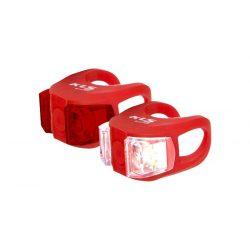 Kellys-KLS-Twins-szilikonos-kerekpar-villogo-szett-piros