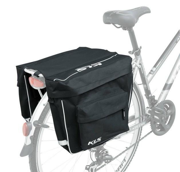 2adf0539143f Kellys KLS Rover csomagtartó túratáska fekete - Golyán kerékpár ...