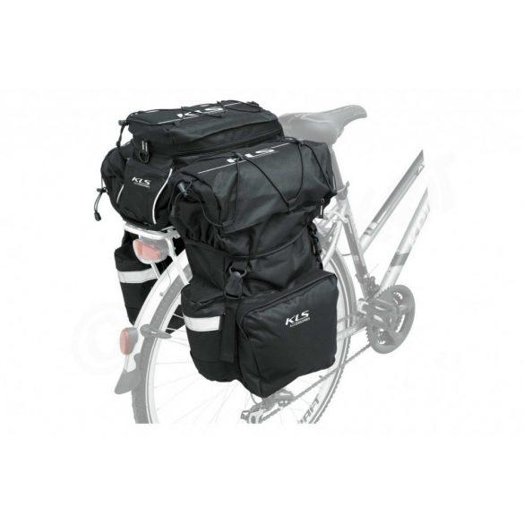 Kellys KLS Hook kerékpár csomagtartó túratáska fekete - Golyán kerékpár  szaküzlet - szerviz - webshop 5193265c5a