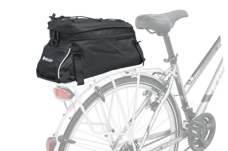 Kellys KLS Courier csomagtartó túratáska fekete - Golyán kerékpár ... 20aa86a881