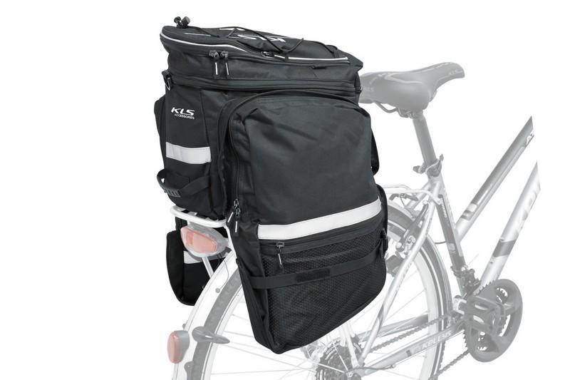 b43da79fd50d Kellys-KLS-Express-csomagtarto-turataska-fekete. • Kerékpáros csomagtartó  túratáska polieszterből