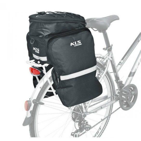 Kellys KLS Supremo kerékpár csomagtartó túratáska fekete - Golyán kerékpár  szaküzlet - szerviz - webshop 9ab771894d