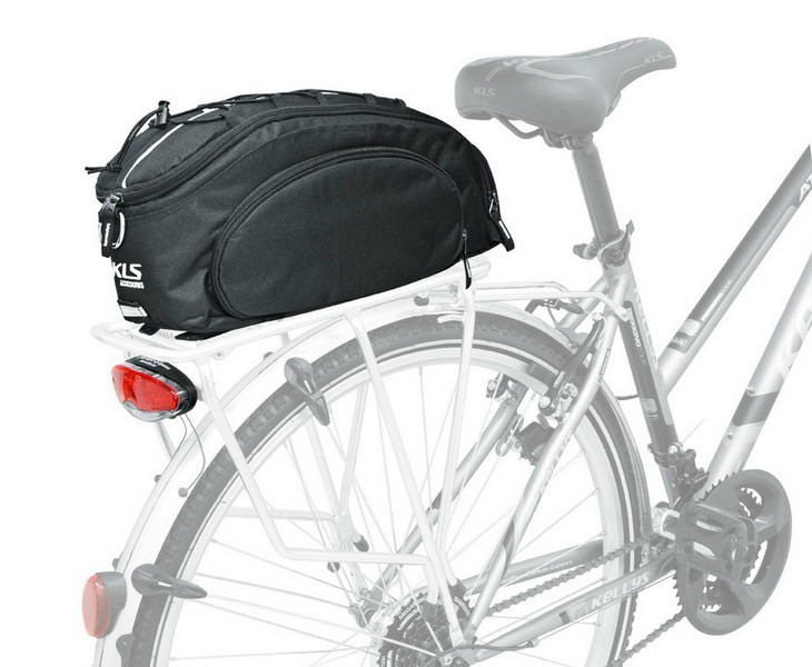 Kellys KLS Serrano kerékpár csomagtartó túratáska fekete - Golyán ... 61aaae6e4f