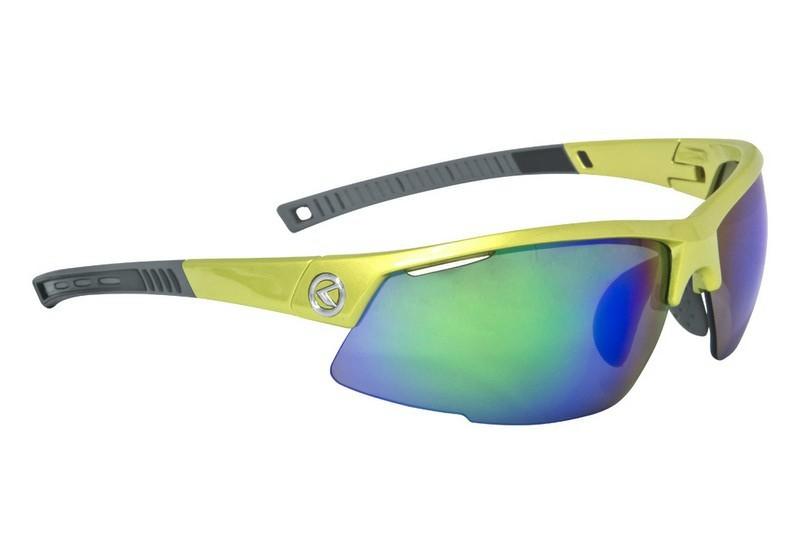 Kellys KLS Force Shiny Lime cserélhető lencsés kerékpáros szemüveg ... 360f519994