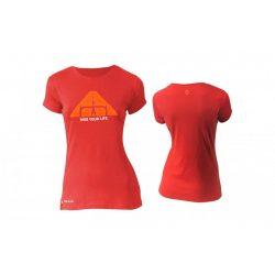 Kellys KLS Women's Biker rövid ujjú női póló piros XS