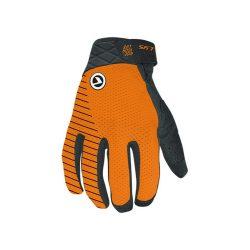 Kellys KLS Relic narancssárga hosszú ujjú kerékpáros kesztyű M