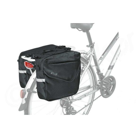 Kellys KLS Adventure 20 kerékpár csomagtartó túratáska fekete ... 1206734b68