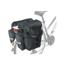 Kellys KLS Adventure 40 kerékpár csomagtartó túratáska fekete