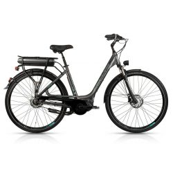 Kellys Ebase dark 450 női elektromos kerékpár (e-bike) (2018)