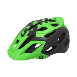 Kellys KLS Dare 018 matt zöld-fekete kerékpáros fejvédő M/L
