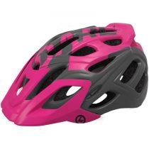 Kellys KLS Dare 018 matt pink-fekete kerékpáros fejvédő S/M