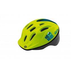 Kellys KLS Mark 018 gyermek kerékpáros fejvédő sárga XS/S (47-51cm)