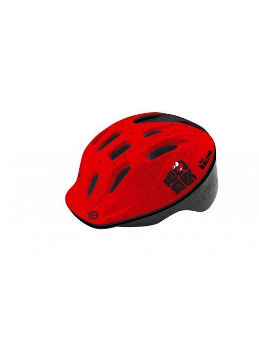 Kellys KLS Mark 018 gyermek kerékpáros fejvédő piros XS/S (47-51cm)