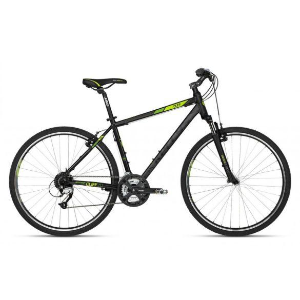 Kellys Cliff 70 black-green férfi Cross kerékpár 17 (2018)