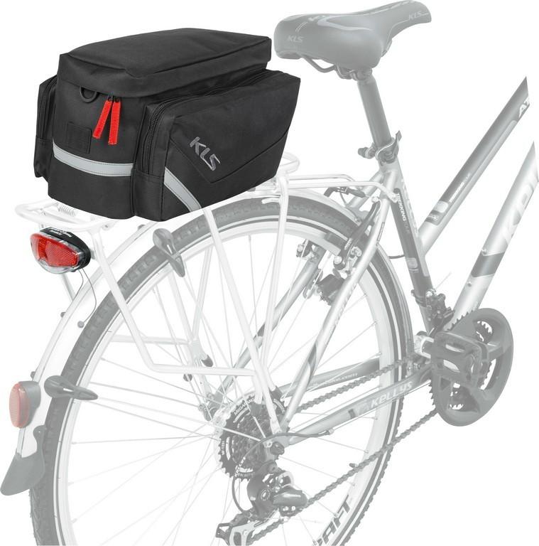 2e921f76ebc3 Kellys KLS Space 12 csomagtartó túratáska fekete - Golyán kerékpár ...