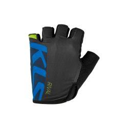 Kellys KLS Rival rövid ujjú kerékpáros kesztyű kék M