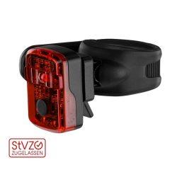 Kellys KLS Proximo (USB) tölthető kerékpár hátsó lámpa fekete