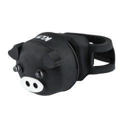 Kellys KLS Piggy kerékpár hátsó villogó lámpa fekete