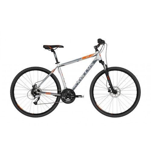 Kellys Cliff 90 grey férfi Cross kerékpár S (2019)