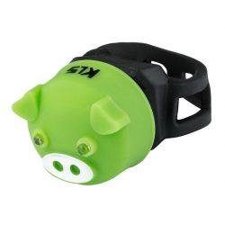 Kellys KLS Piggy kerékpár hátsó villogó lámpa zöld