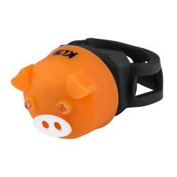 Kellys KLS Piggy kerékpár hátsó villogó lámpa narancssárga