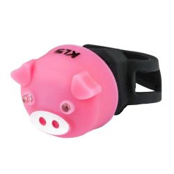 Kellys KLS Piggy kerékpár hátsó villogó lámpa pink