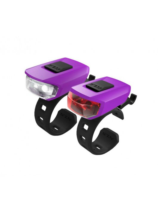 Kellys KLS Vega szilikonos kerékpár villogó szett purple