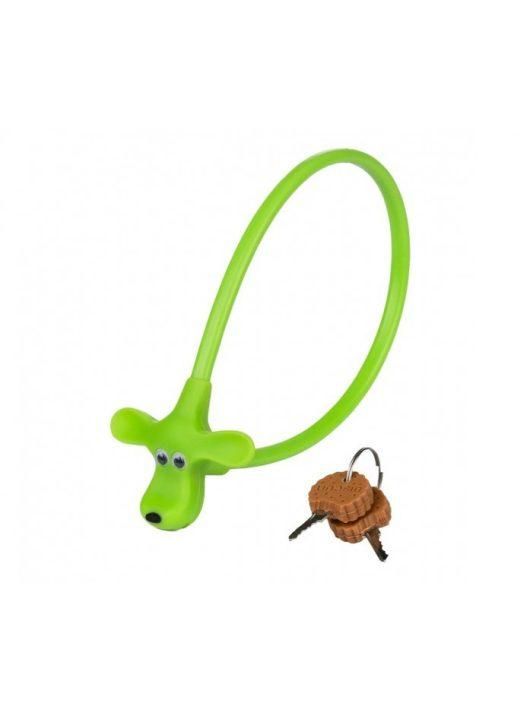 Kellys KLS Kiddy green kerékpár huzalos lakat