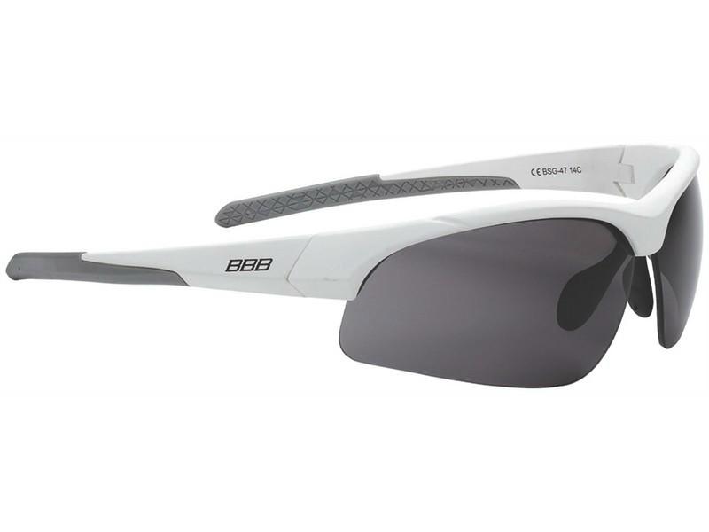 BBB Impress BSG-47 4707 matt fehér cserélhető lencsés kerékpáros ... a3e77858ae