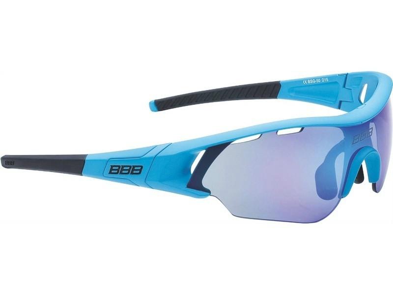 BBB Summit BSG-50 5012 matt kék cserélhető lencsés kerékpáros ... f7c48169b6