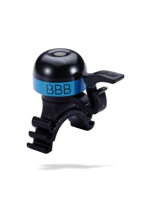 BBB MiniFit BBB-16 kerékpár csengő fekete-kék