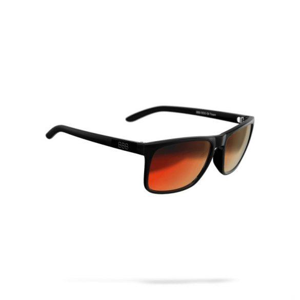 BBB Town BSG-56 5613 matt fekete-piros PC fix lencsés kerékpáros szemüveg de96081c86