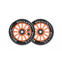 Spartan Sport 100mm roller kerék csapággyal narancs